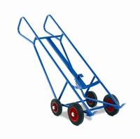 Pallet Loading Drum Trucks: click to enlarge