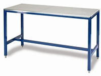 Medium Duty Workbenches - Galvanised Steel Top: click to enlarge