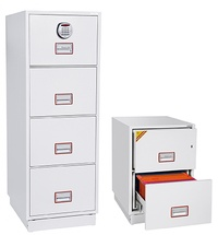 World Class Vertical Fire File Safes: click to enlarge