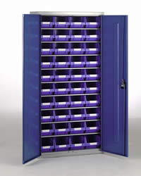 Topstore Container Cabinets H2000 x W1015 x D430mm: click to enlarge