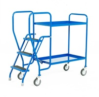 Step Tray Trolleys: click to enlarge