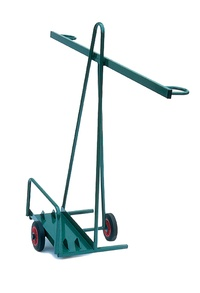 Sheet Material Trolley - Single Axle: click to enlarge