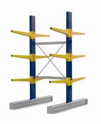 Double Sided BCR100 series Cantilever Racking - Height 3040mm