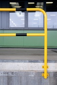 TRAFFIC - LINE Steel Hoop Guards - Wall Fixing (Permanent)
