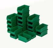 Topstore - TC2 Standard Colour Semi-Open Fronted Containers