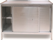 Stainless Steel Cupboard Workbenches