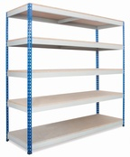 Heavy Duty Rivet Racking - 915mm Wide Bays