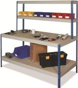 Rivet Workstations c/w Full Undershelf