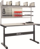 Electric Height Adjustable Binary Workbenches